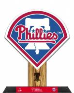 Philadelphia Phillies Team Logo Standz Photo Sculpture