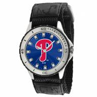 Philadelphia Phillies Veteran Velcro Mens Watch