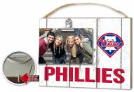 Philadelphia Phillies Weathered Logo Photo Frame