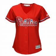 Philadelphia Phillies Women's Replica Scarlet Alternate Baseball Jersey