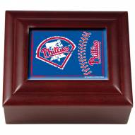 Philadelphia Phillies Wood Keepsake Box
