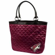 Phoenix Coyotes Quilted Tote Bag