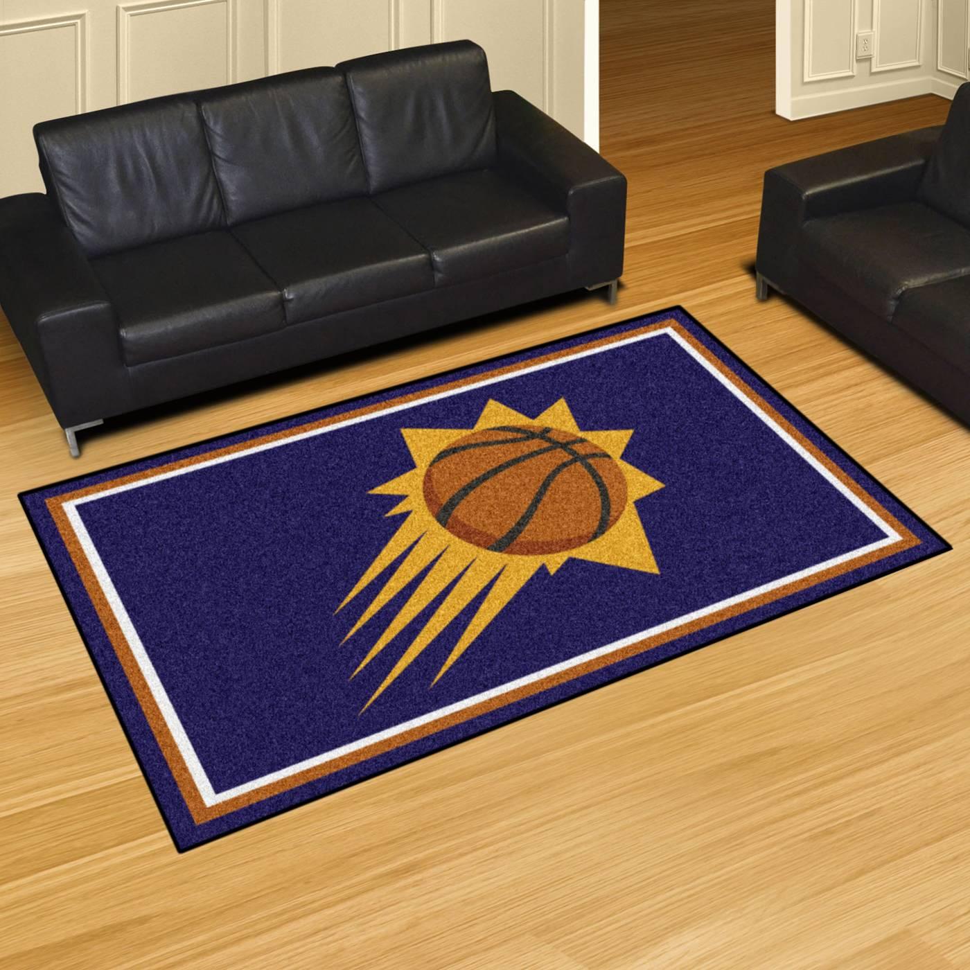 Basketball Rug Target: Phoenix Suns 4' X 6' Area Rug