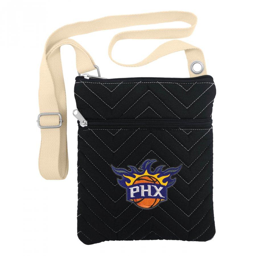Phoenix Suns Chevron Stitch Crossbody Bag