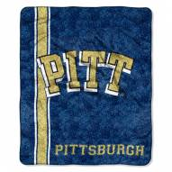 Pittsburgh Panthers Jersey Sherpa Blanket