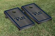 Pittsburgh Panthers Onyx Stained Border Cornhole Game Set