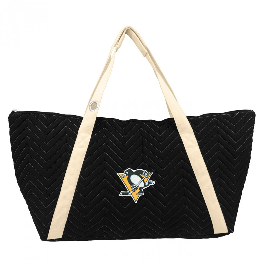 Pittsburgh Penguins Chevron Stitch Weekender Bag