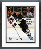 Pittsburgh Penguins Christian Ehrhoff 2014-15 Action Framed Photo