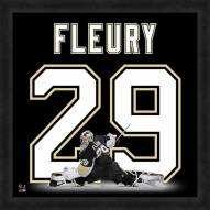 Pittsburgh Penguins Marc-Andre Fleury Uniframe Framed Jersey Photo