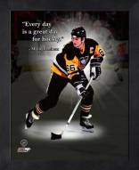 Pittsburgh Penguins Mario Lemieux Framed Pro Quote