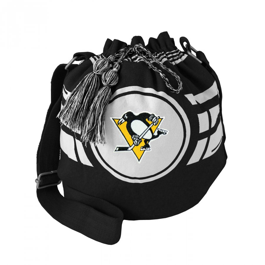 Pittsburgh Penguins Ripple Drawstring Bucket Bag