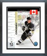 Pittsburgh Penguins Sidney Crosby Canada Portrait Plus Framed Photo