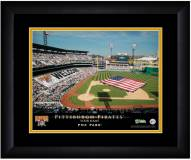 Pittsburgh Pirates 13 x 16 Personalized Framed Stadium Print