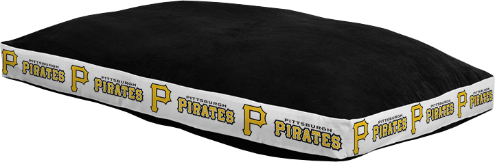 "Pittsburgh Pirates 26"""" x 37"""" Dog Bed"