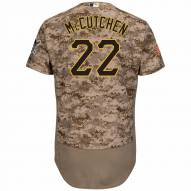 Pittsburgh Pirates Andrew McCutchen Authentic Camo Alternate Baseball Jersey