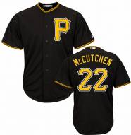Pittsburgh Pirates Andrew McCutchen Replica Black Alternate Baseball Jersey