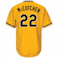 Pittsburgh Pirates Andrew McCutchen Replica Yellow Gold Retro Alternate Baseball Jersey
