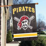 Pittsburgh Pirates Appliqué 2-Sided Banner Flag
