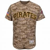 Pittsburgh Pirates Authentic Camo Alternate Baseball Jersey