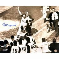 "Pittsburgh Pirates Bill Mazeroski ""Rounding bases shot"" Signed 16"" x 20"" Photo"