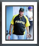 Pittsburgh Pirates Clint Hurdle 2014 Action Framed Photo
