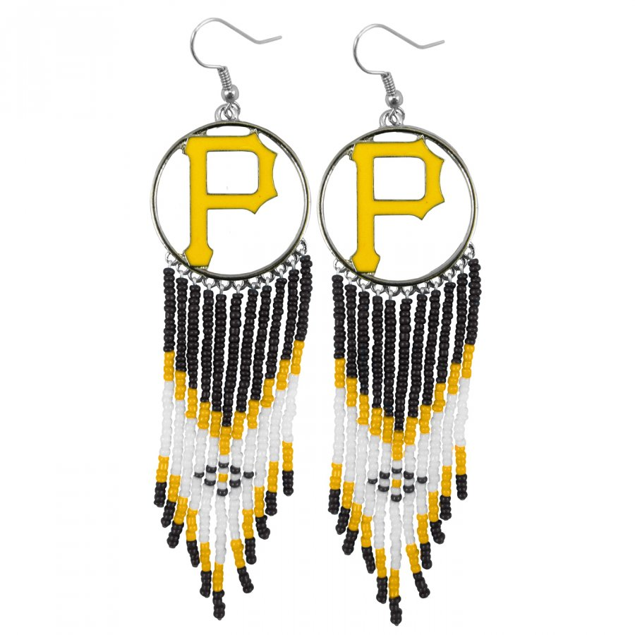 Pittsburgh Pirates Dreamcatcher Earrings