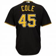 Pittsburgh Pirates Gerrit Cole Replica Black Alternate Baseball Jersey