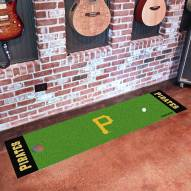 Pittsburgh Pirates Golf Putting Green Mat