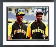 Pittsburgh Pirates Gregory Polanco & Starling Marte 2014 Framed Photo