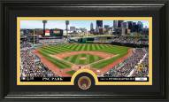 Pittsburgh Pirates Infield Dirt Coin Panoramic Photo Mint