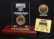 Pittsburgh Pirates Infield Dirt Etched Acrylic