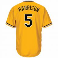 Pittsburgh Pirates Josh Harrison Replica Yellow Gold Retro Alternate Baseball Jersey