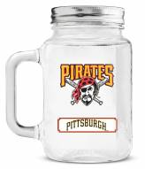 Pittsburgh Pirates Mason Glass Jar