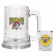 Pittsburgh Pirates MLB Boilermaker Set - Shot Glass & Tankard Mug