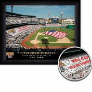 Pittsburgh Pirates Personalized Framed Stadium Print