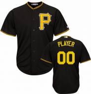 Pittsburgh Pirates Personalized Replica Black Alternate Baseball Jersey