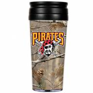 Pittsburgh Pirates RealTree Camo Coffee Mug Tumbler
