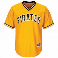 Pittsburgh Pirates Replica Yellow Gold Retro Alternate Baseball Jersey