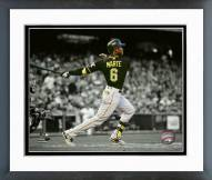 Pittsburgh Pirates Starling Marte 2015 Spotlight Action Framed Photo