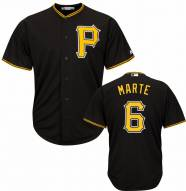Pittsburgh Pirates Starling Marte Replica Black Alternate Baseball Jersey