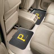 Pittsburgh Pirates Vinyl 2-Piece Rear Floor Mats