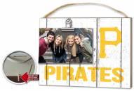 Pittsburgh Pirates Weathered Logo Photo Frame