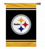 "Pittsburgh Steelers 28"" x 40"" Banner"