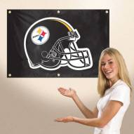 Pittsburgh Steelers 3' x 2' Fan Banner