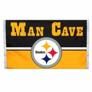 Pittsburgh Steelers 3' x 5' Man Cave Flag