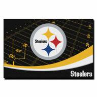 "Pittsburgh Steelers 39"" x 59"" Area Rug"