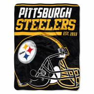 Pittsburgh Steelers 40 Yard Dash Blanket