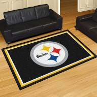 Pittsburgh Steelers 5' x 8' Area Rug
