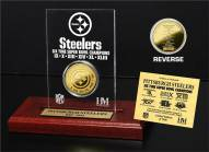 Pittsburgh Steelers 6x Super Bowl Champions Etched Acrylic