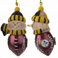 Pittsburgh Steelers All-Star Light Up Snowman Ornament